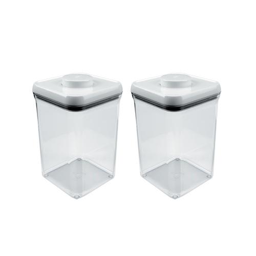 [기획상품] 원터치 밀폐용기 - 3.8L (정사각 4.0qt)(2EA)